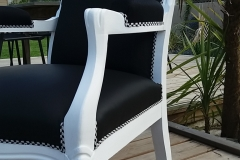 fauteuil voltaire tapissier relook rugby allblacks bordeaux4 - Voltaire Relooke