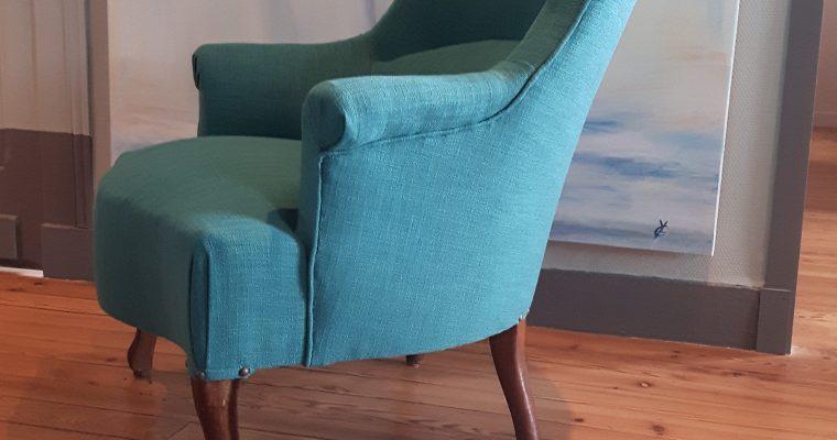 Gradignan Rénovation fauteuil Crapaud