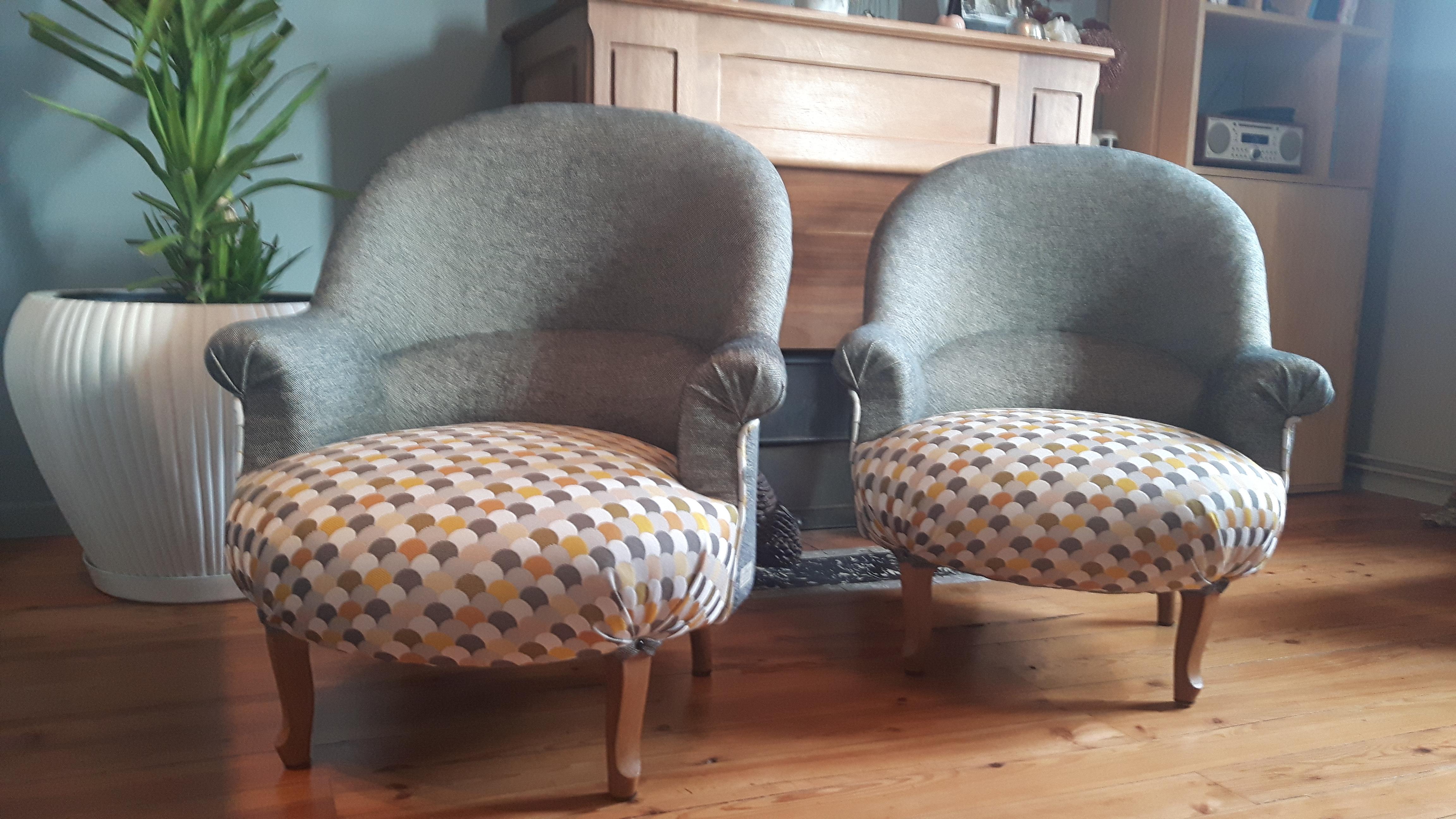 fauteuils crapaud - Tapissier Fauteuil