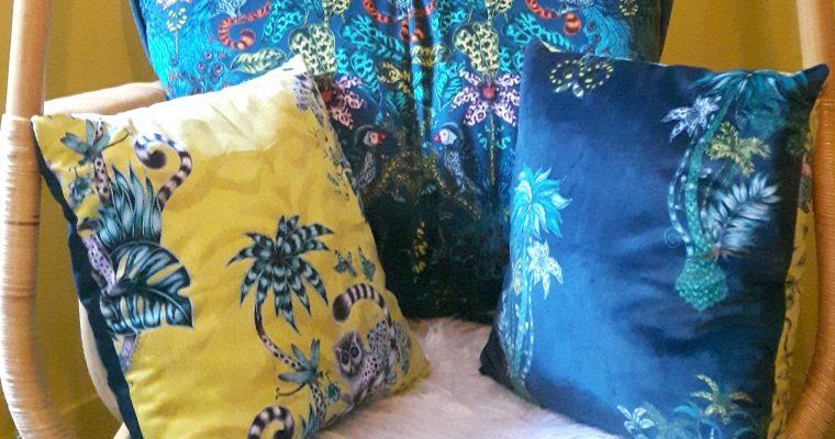 Couture d'ameublement – coussins décoratifs – sur mesure