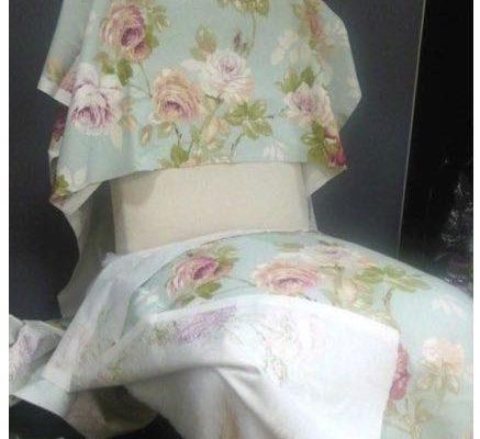 étapes restauration chauffeuse Louis Phillipe  – Dossier – Toile blanche –  Couverture Tissu Décoration