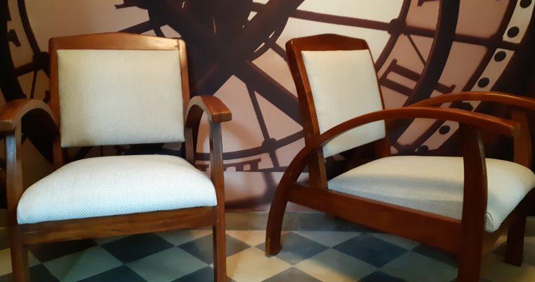 Recouverture Fauteuils de style Art Déco – Tapissier Décorateur – Bordeaux – Gironde