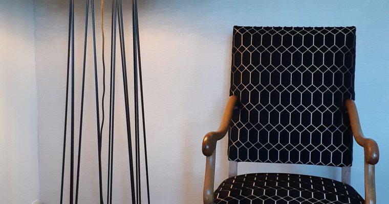 bordeaux-tapissier décorateur- Couverture fauteuil Louis XIV