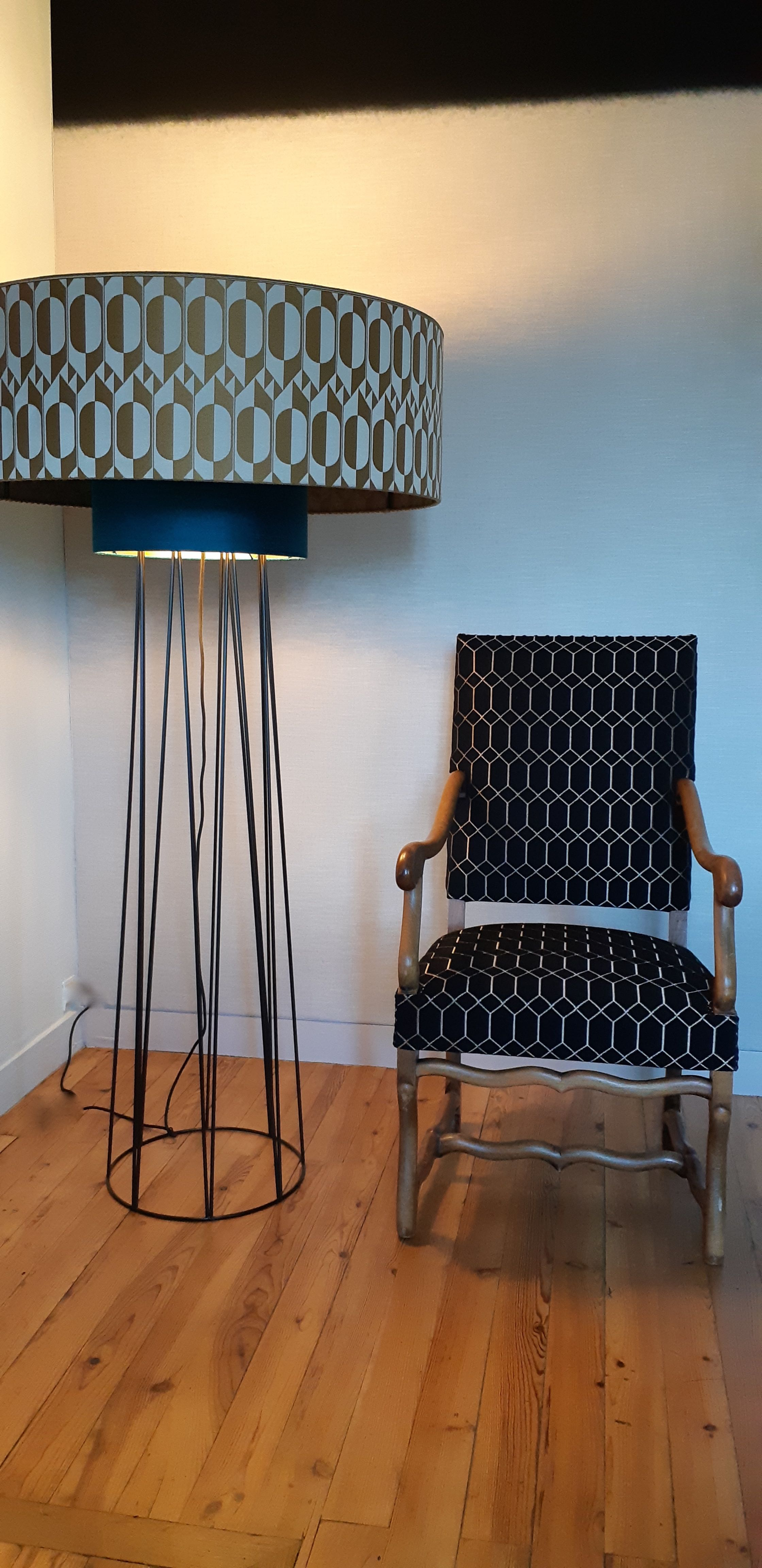 bordeaux-tapissier décorateur-fauteuil Louis XIV