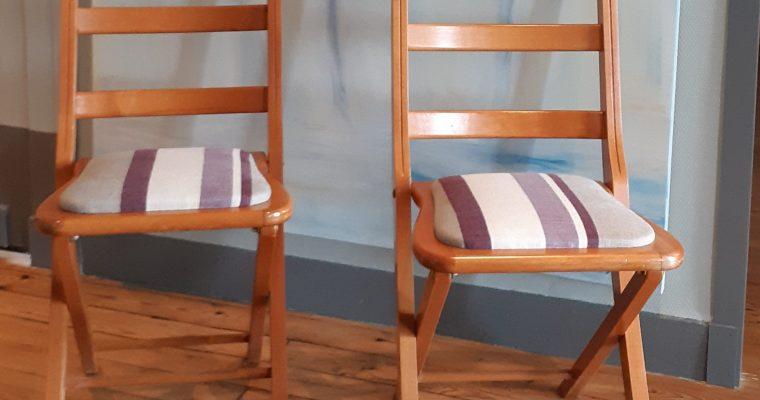 Cestas – Petites chaises pliantes