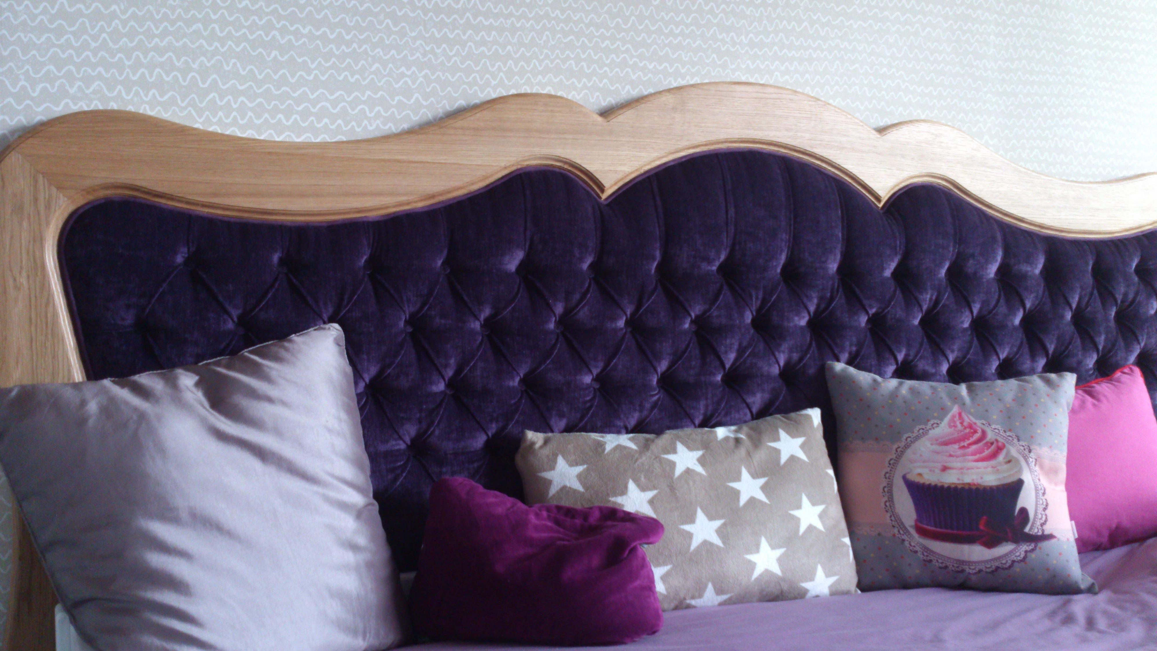 creation tête de lit capitonnée