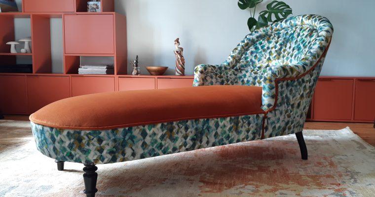 Rénovation – fauteuil Méridienne- Bordeaux