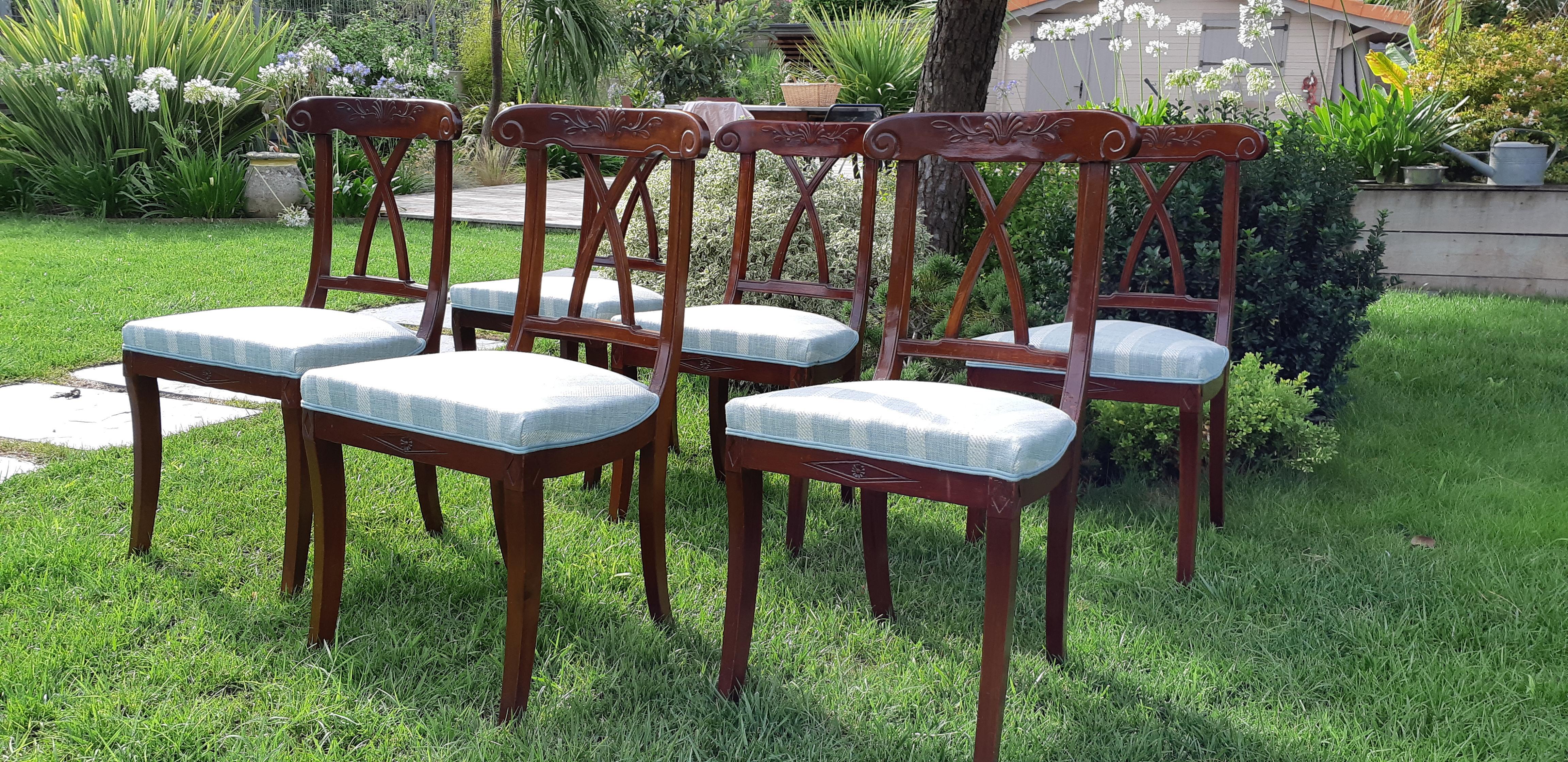 Villenave d'ornon – Rénovation chaises de style